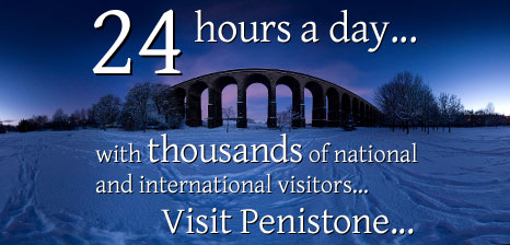 24 hours a day, with thousands of national and international visitors...